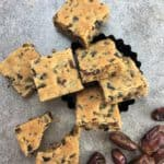 Easy Date Slice Recipe - just melt and mix
