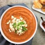 Smoky almond romesco sauce - spicy & smoky capsicum sauce