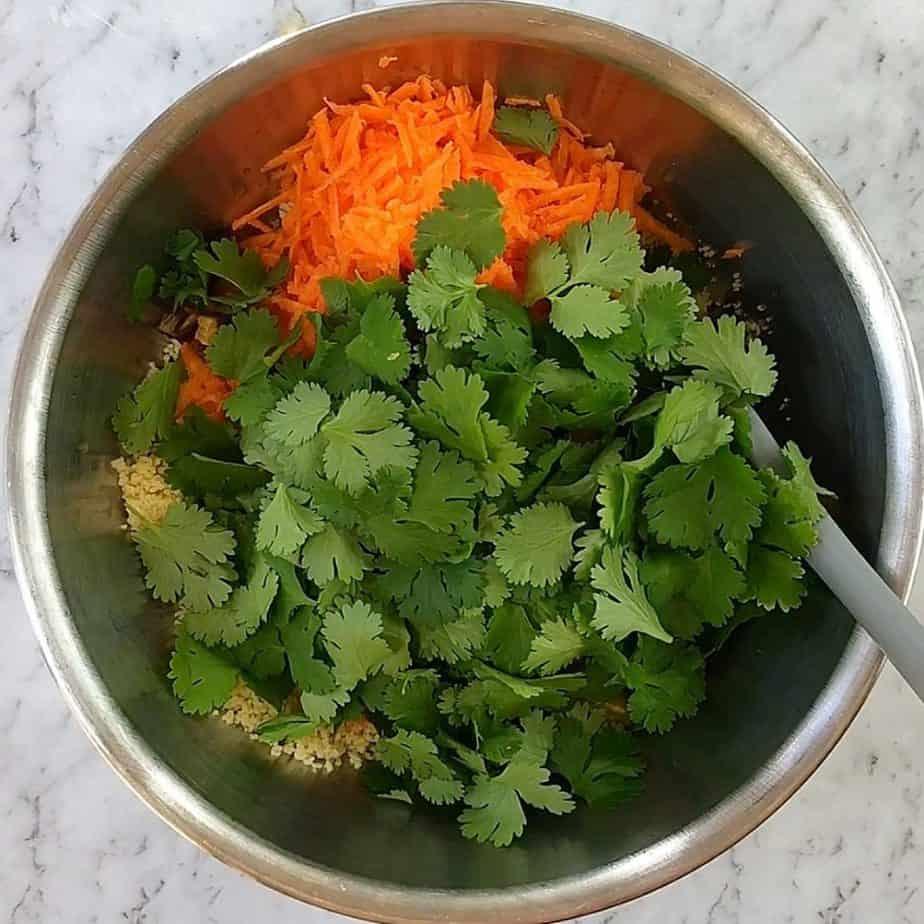 step by step photo for making citrus orange salad