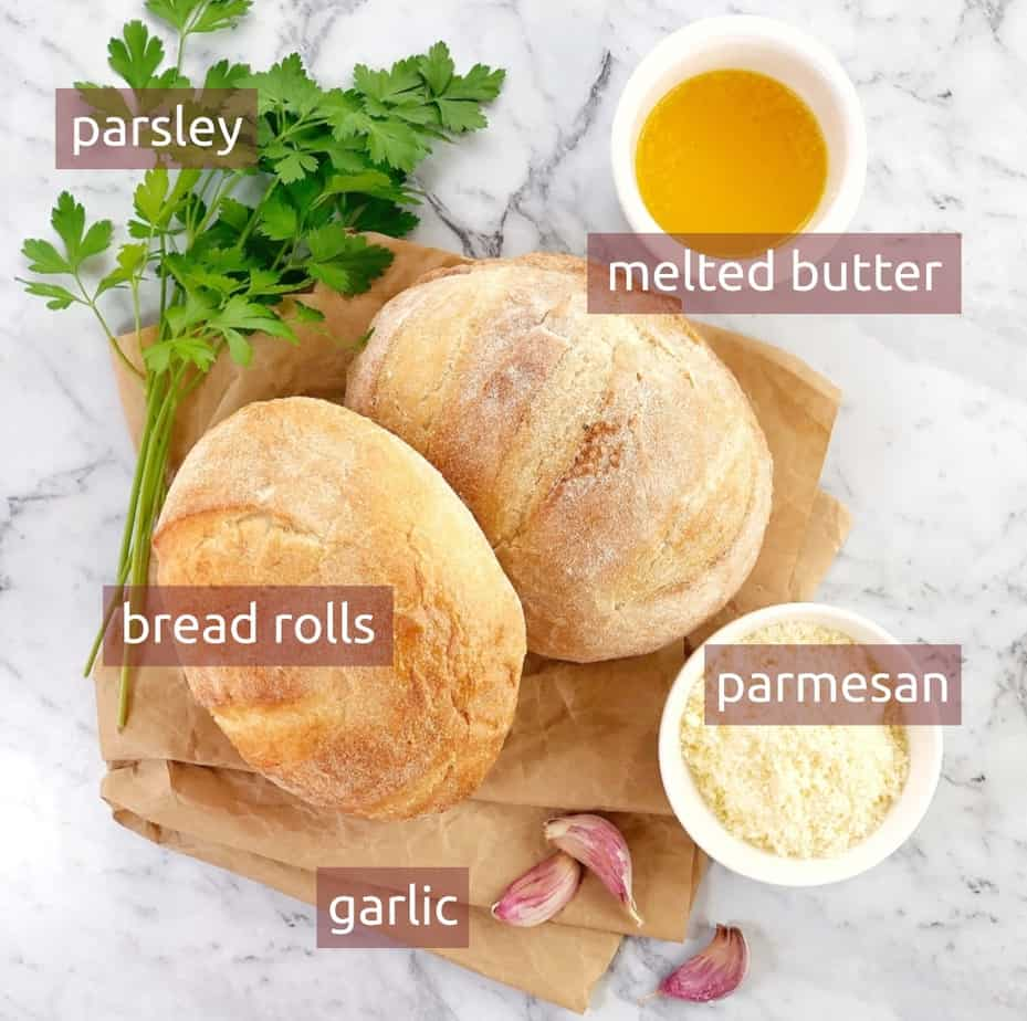 ingredients graphic for bread bowl recipe