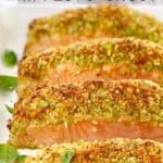 salmon fillets on a baking tray