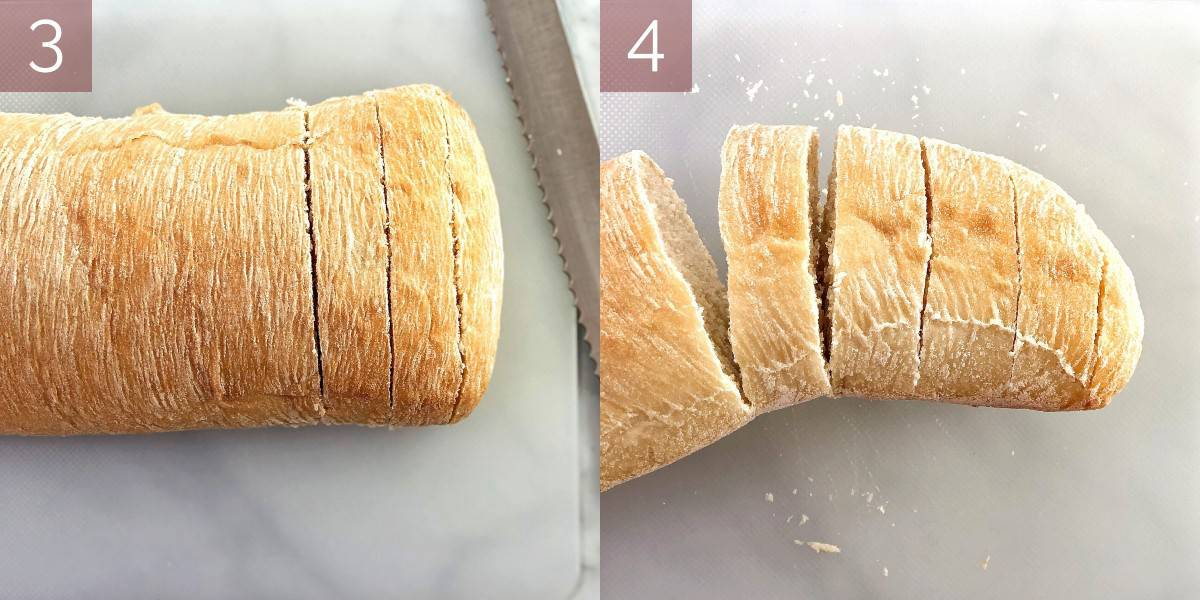 process shots showing how to make recipe
