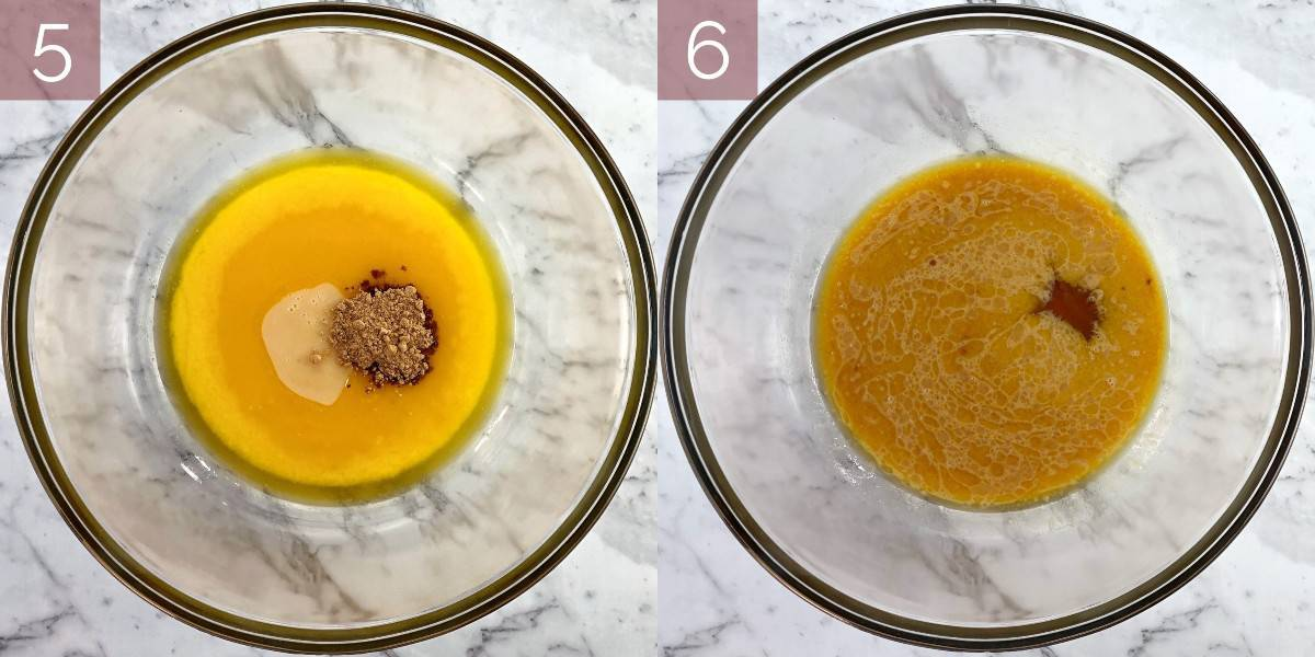 showing process of how to make slice recipe