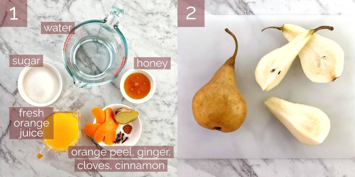images showing process of making recipe