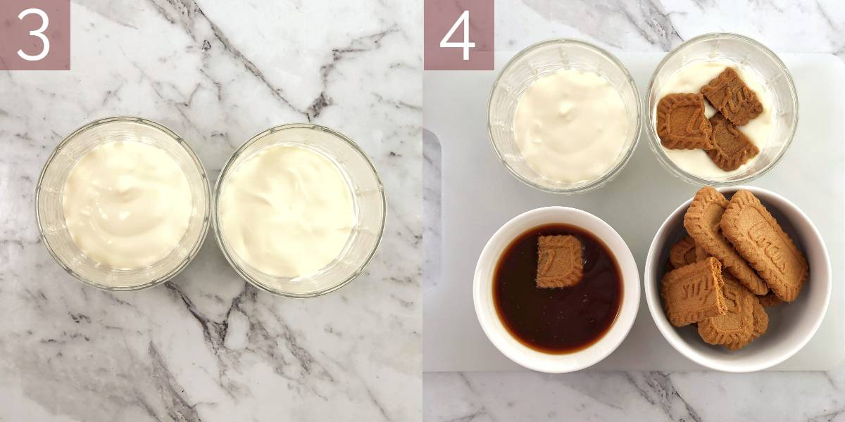 photos showing the process of making this recipe